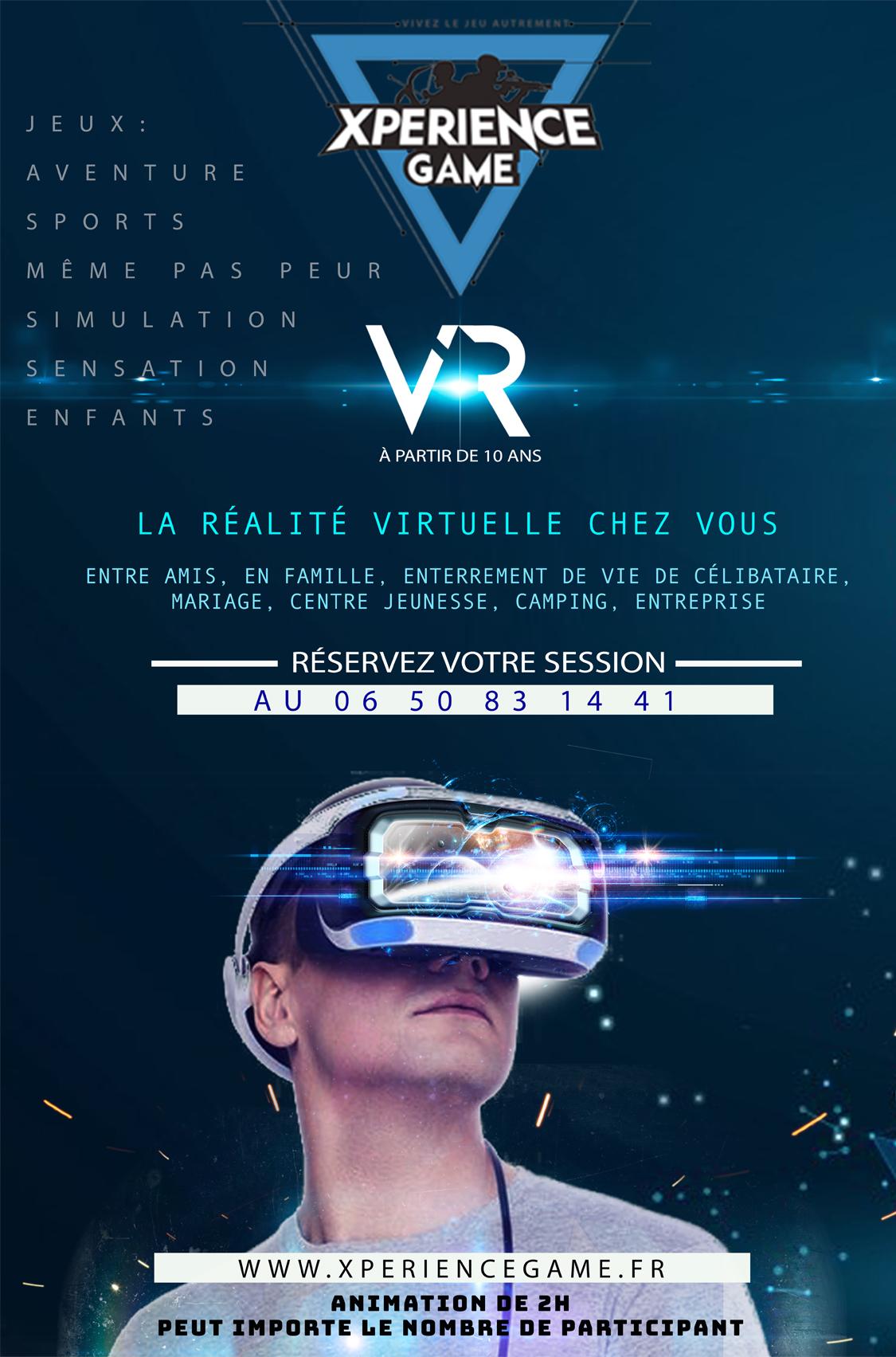Réalité virtuelle montauban