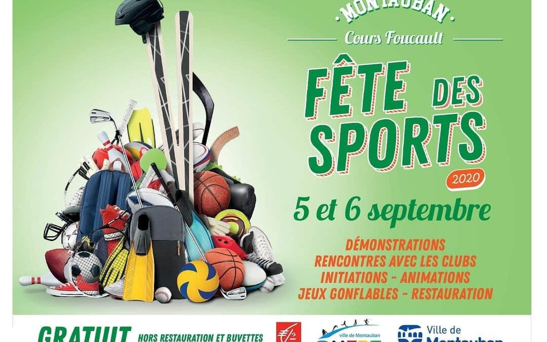 Animation fêtes des sports 2020